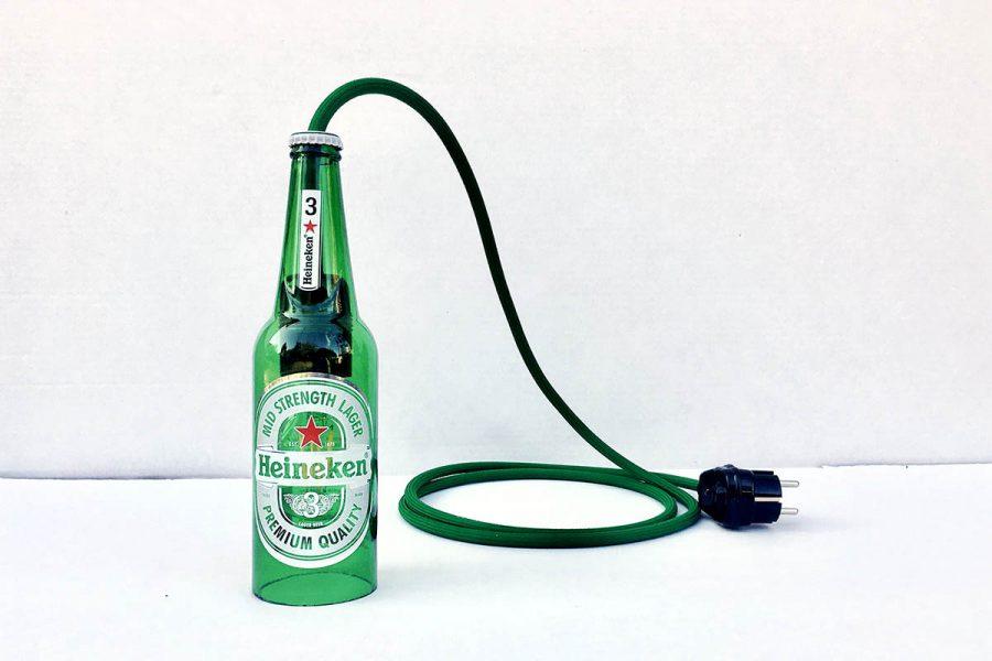 lampa butelkowa heineken